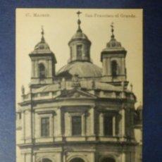 Postales: POSTAL - ESPAÑA - MADRID - 47.- SAN FRANCISCO EL GRANDE - J. ROIG - SIN CIRCULAR . Lote 114639631