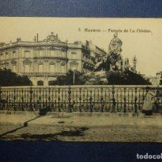 Postales: POSTAL - ESPAÑA - MADRID.- 5.- FUENTE DE LA CIBELES - J. ROIG - SIN CIRCULAR . Lote 114643839