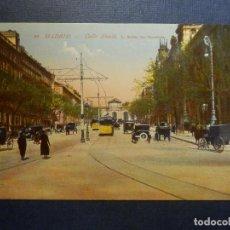 Postales: POSTAL - ESPAÑA - MADRID - 20.- CALLE ALCALÁ - FOT. L. ROISIN - SIN CIRCULAR. Lote 114693635