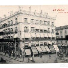 Postales: MADRID - N. 32 - HOTEL DE PARIS - ED. LACOSTE - NO CIRCULADA.. Lote 114945039