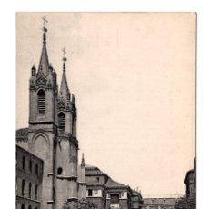 Postales: MADRID - Nº 72 - IGLESIA DE LOS GERONIMOS Y CALLE MORETO - ED. LACOSTE. Lote 114945151