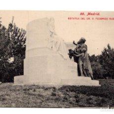 Postales: MADRID - Nº 99 - ESTATUA DEL DR. D. FEDERICO RUBIO - ED. LACOSTE - NO CIRCULADA.. Lote 114945563