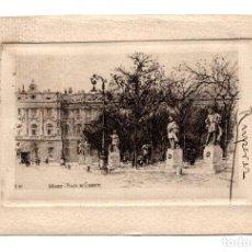 Postales: MADRID.- PLAZA DE ORIENTE - GRABADO DE CAMPUZANO. 1912. Lote 115041511