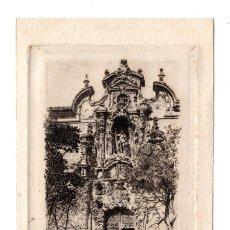 Postales: MADRID.- EL HOSPICIO - GRABADO DE CAMPUZANO. 1907. Lote 115041611