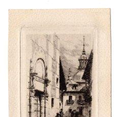 Postales: MADRID.- MADRID VIEJO - GRABADO DE CAMPUZANO. 1907. Lote 115041691