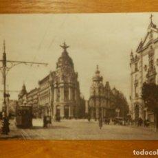 Postales: POSTAL - ESPAÑA - MADRID - 1.- CALLE DE ALCALÁ Y GRAN VÍA - GRAFOS - SIN CIRCULAR -. Lote 115125951