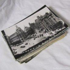 Postales: 92 POSTALES DE MADRID BLANCO Y NEGRO, Y ALGUNA COLOREADA. Lote 115247567