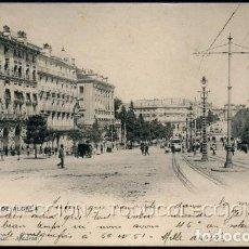 Postales: POSTAL MADRID CALLE DE ALCALA . HAUSER Y MENET 276 . CA AÑO 1900. Lote 116120339