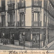 Postales: MADRID.- CALLE DE Dª BARBARA DE BRAGANZA. Lote 116328371
