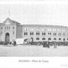 Postales: MADRID.- PLAZA DE TOROS. Lote 116329087