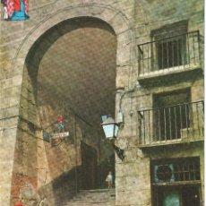 Postales: MADRID EL ARCO DE CUCHILLEROS . SIN CIRCULAR. Lote 116448903