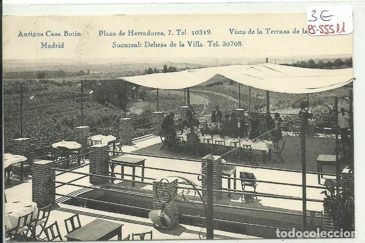 Ps 55511 Postal De Madrid Antigua Casa Botin Vista De La Terraza De La Sucursal Dehesa De La Villa