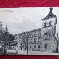 Postales: POSTAL TOLEDO: EL ALCAZAR. Lote 116468771