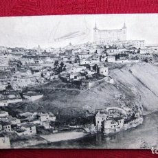 Postales: POSTAL TOLEDO: VISTA GENERAL DEL ALCAZAR. Lote 116468911