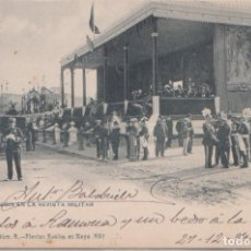 Postales: MADRID - LA TRIBUNA RUSA EN LA REVISTA MILITAR - FIESTAS REALES MAYO 1902. Lote 116603183