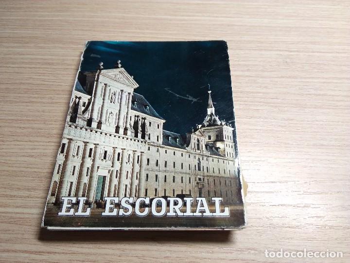 EL ESCORIAL. ALBUM ACORDEON 22 POSTALES ANTIGUAS (Postales - España - Madrid Moderna (desde 1940))