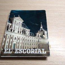 Postales: EL ESCORIAL. ALBUM ACORDEON 22 POSTALES ANTIGUAS. Lote 116833847