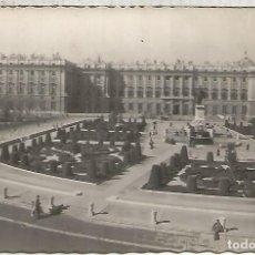 Postales: MADRID PALACIO REAL ESCRITA. Lote 117624891