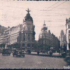Cartes Postales: POSTAL MADRID 29 - GRAN VIA Y CALLE DE ALCALA - EDICIONES GRECA - CIRCULADA. Lote 117751647