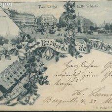 Postales: MADRID - RECUERDO DE MADRID. Lote 118014435
