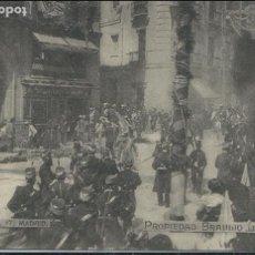 Postales: MADRID - ATENTADO CONTRA SS.MM. EN LA CALLE MAYOR 1906. Lote 118050819