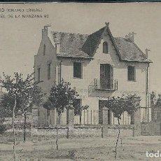 Postales: MADRID - UN HOTEL DE LA MANZANA 90 EN CIUDAD LINEAL. Lote 118098547