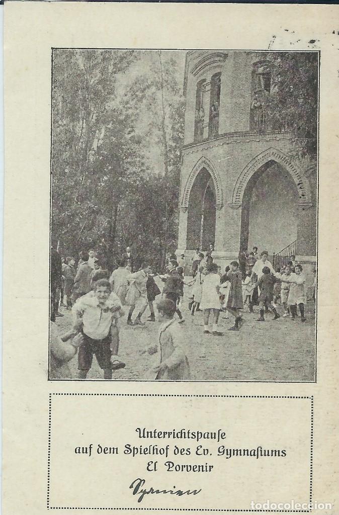 MADRID - COLEGIO INFANTIL EL PORVENIR EN CUATRO CAMINOS (Postales - España - Comunidad de Madrid Antigua (hasta 1939))