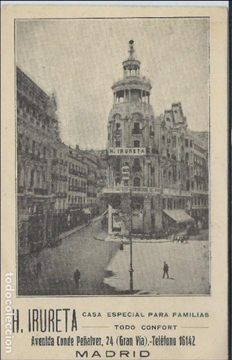 Madrid Gran Via Publicitaria Comprar Postales Antiguas De La