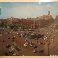 Postales: MADRID : PLAZA CIBELES & CALLE ALCALA 70'S. Lote 118428707