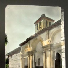 Postales: POSTAL MADRID MIRAFLORES DE LA SIERRA. PORTADA PRINCIPAL DE LA IGLESIA. . Lote 118450663