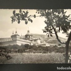 Postales: POSTAL MADRID, EL ESCORIAL. VISTA GENERAL DEL MONASTERIO. . Lote 118451083