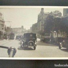 Postales: FOTO POSTAL MADRID. CALLE ALCALÁ. AÑO 1926. . Lote 118530791