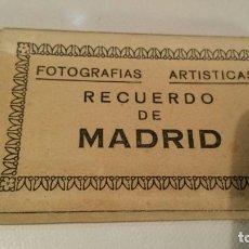 Postales: LIBRITO DE 12 FOTOGRAFIAS DE MADRID NUMERO V - E DOMINGUEZ AÑOS 40. Lote 118542227