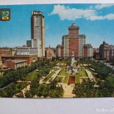 Postales: TARJETA POSTALES - ESPAÑA - MADRID - PLAZA DE ESPAÑA. Lote 118635803