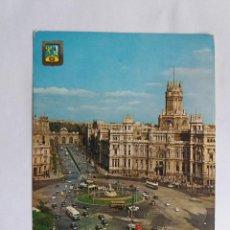 Postales: TARJETA POSTALES - ESPAÑA - MADRID - CALLE DE ALCALA - LA CIBELES Y PALACIO DE COMUNICACIONES. Lote 118641307