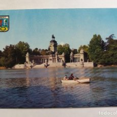 Postales: TARJETA POSTALES - ESPAÑA - MADRID - ESTANQUE DEL RETIRO - MONUMENTO A ALFONSO XII. Lote 118641775