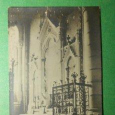 Postales: POSTAL - ESPAÑA - MADRID - NUESTRA SRA. DE LA ALMUDENA - ALTAR DE LA CAPILLA DE FONTALBA - EDITOR S/. Lote 118662139