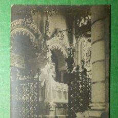 Postales: POSTAL - ESPAÑA - MADRID - NUESTRA SRA. DE LA ALMUDENA - ENTERRAMIENTO MARQUESES DE URQUIJO - ED S/D. Lote 118662671