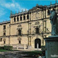 Postales: == PH1542 - POSTAL - ALCALA DE HENARES - UNIVERSIDAD Y ESTATUA DE CISNEROS. Lote 118681263