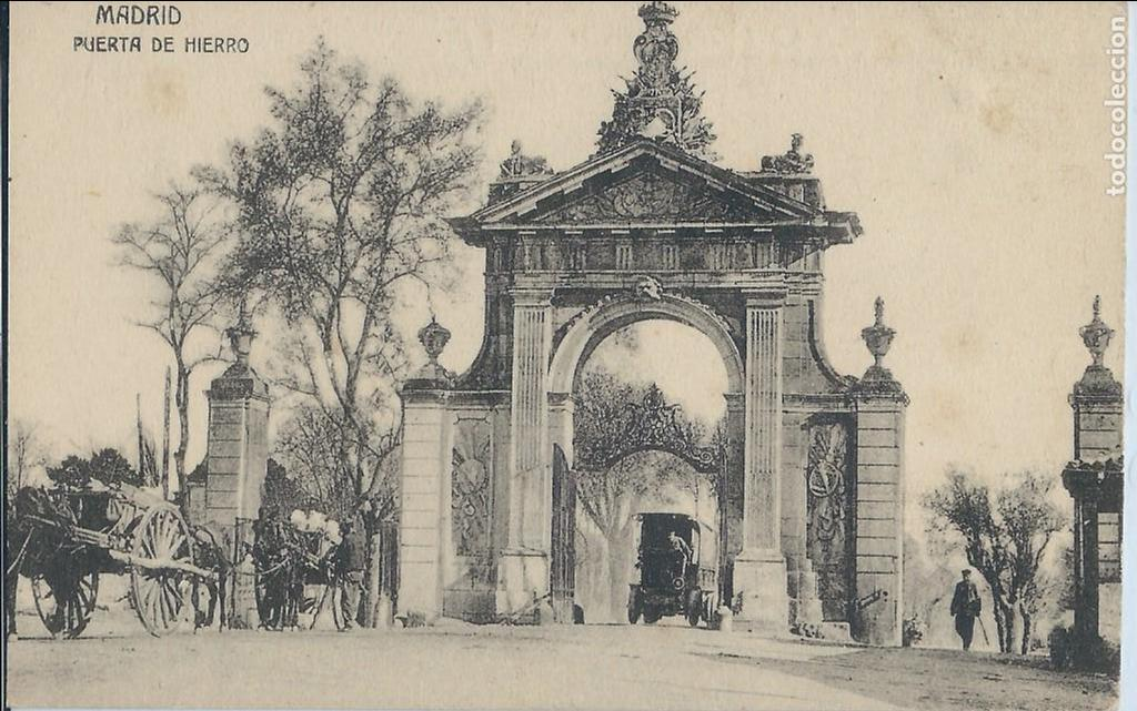MADRID - PUERTA DE HIERRO (Postales - España - Comunidad de Madrid Antigua (hasta 1939))