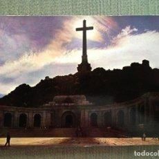 Postales: POSTAL SANTA CRUZ DEL VALLE DE LOS CAIDOS FACHADA CONTRALUZ. Lote 118839511