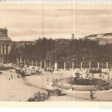 Postales: MADRID CIBELES ESCRITA. Lote 119511619