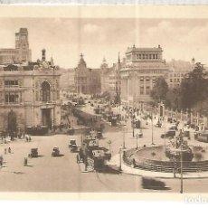 Postales: MADRID CIBELES ESCRITA. Lote 119511639