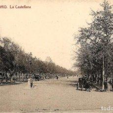 Postales: MADRID - Nº18 LA CASTELLANA - 1230 FOTOTIPIA THOMAS, BARCELONA - SIN CIRCULAR. Lote 119952155