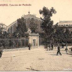 Postales: MADRID - Nº12 ESTACIÓN DEL MEDIODÍA - 1224 FOTOTIPIA THOMAS, BARCELONA - SIN CIRCULAR. Lote 119952827