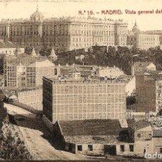 Postales: MADRID - Nº19 VISTA GENERAL DEL PALACIO REAL - 1231 FOTOTIPIA THOMAS, BARCELONA - SIN CIRCULAR. Lote 119952947