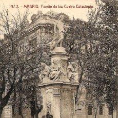 Postales: MADRID - Nº2 FUENTE DE LAS CUATRO ESTACIONES - 1214 FOTOTIPIA THOMAS, BARCELONA - SIN CIRCULAR. Lote 119953691
