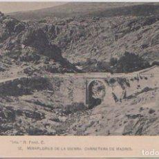 Postales: MIRAFLORES DE LA SIERRA (MADRID) - CARRETERA DE MADRID. Lote 120764395