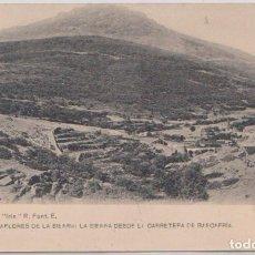 Postales: MIRAFLORES DE LA SIERRA (MADRID) - LA SIERRA DESDE LA CARRETERA DE RASCAFRIA. Lote 120764679