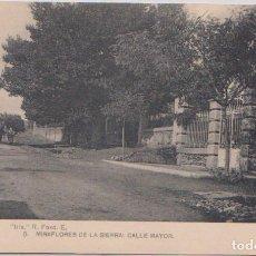 Postales: MIRAFLORES DE LA SIERRA (MADRID) - CALLE MAYOR. Lote 120770659
